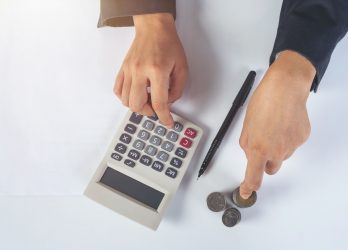 finance-and-accounting-concept-business-woman-working-on-desk